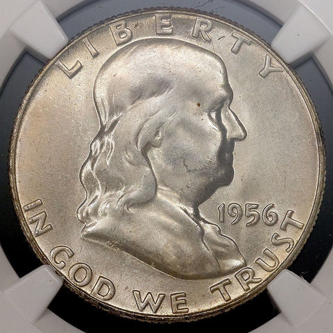 1956 Franklin Half Dollar - MS 65 FBL Full Bell Lines / Registry Ready