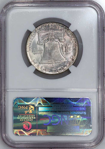 1957 Franklin Half Dollar - NGC MS 66
