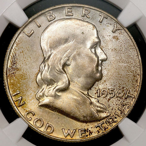 1958-D Franklin Half Dollar - MS 66 / Registry Ready