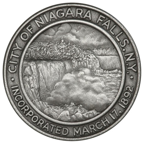 1967 .999 Silver 1 oz Medallic Art Co. 75th Anniv. Niagara Falls Medal