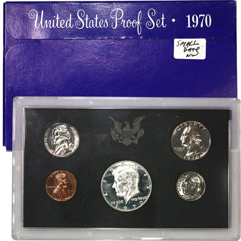 1970-S Small Date U.S. Proof Sets - Gem Proof (Limited Quantity)