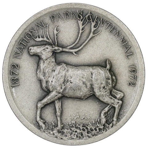 1972 .999 Silver Medallic Art Co. McKinley National Parks Medal - 39mm