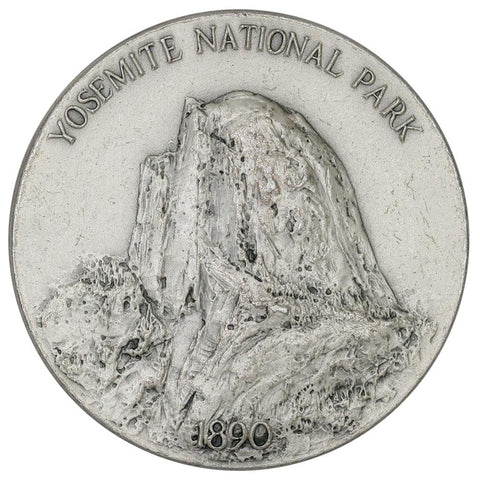 1972 .999 Silver Medallic Art Co. Yosemite National Parks Medal - 39mm