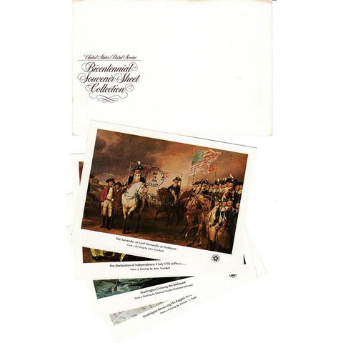 1976 13c-32c Scott #1686-89 American Bicentennial Set of 4 Souvenir Sheets - MNH