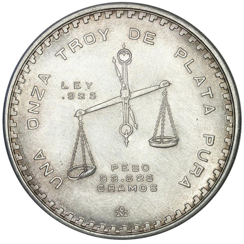 1978-MO Mexico Silver Onza KM. 49 - About Uncirculated