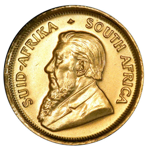1981 South Africa 10th Ounce Gold Krugerrand KM.105 - Gem Brilliant Uncirculated