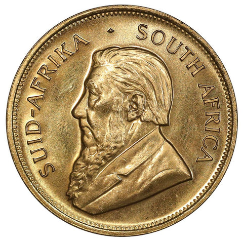 1981 South Africa 1 Oz. Gold Krugerrand KM.73 - Gem Brilliant Uncirculated