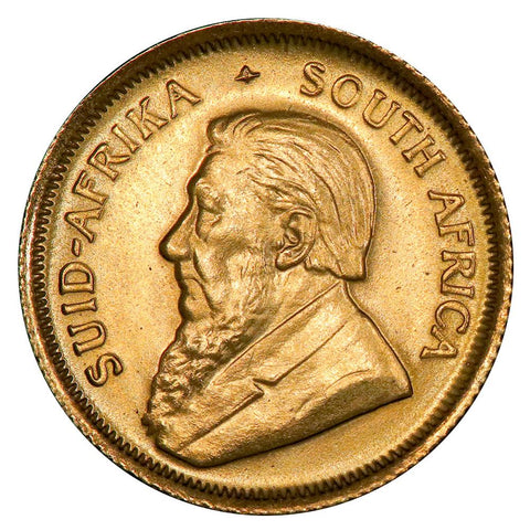 1983 South Africa 10th Ounce Gold Krugerrand KM.105 - Gem Brilliant Uncirculated
