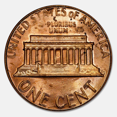 1983 Doubled Die Reverse Lincoln Memorial Cent ~ FS-801