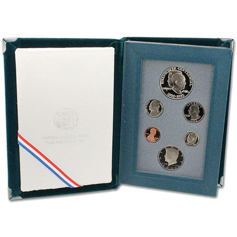 1990 U.S. Mint Prestige Proof Sets in Original Government Packaging on Special