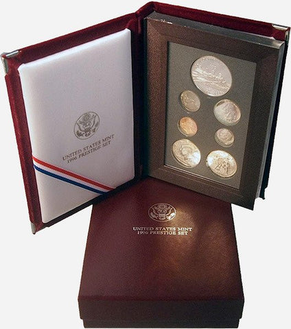 1996 U.S. Mint Prestige Proof Sets in Original Government Packaging on Special
