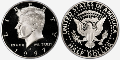 1997 to 2019 Kennedy Half Dollars by Date- Brilliant Uncirculated
