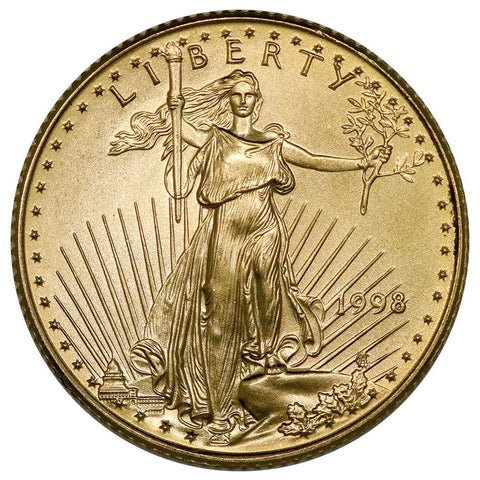 1998 $10 1/4 Oz Quarter Ounce Gold Eagles - Gem Uncirculated