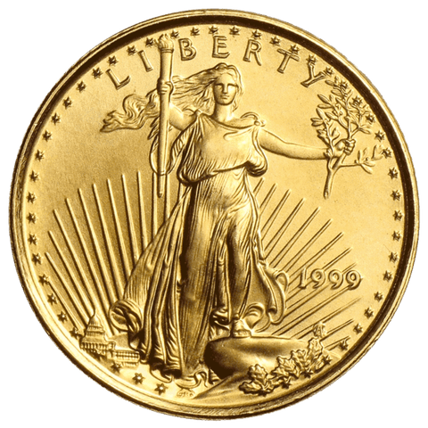 $10 American Gold Eagles 1/4 oz • Back Dates On Special