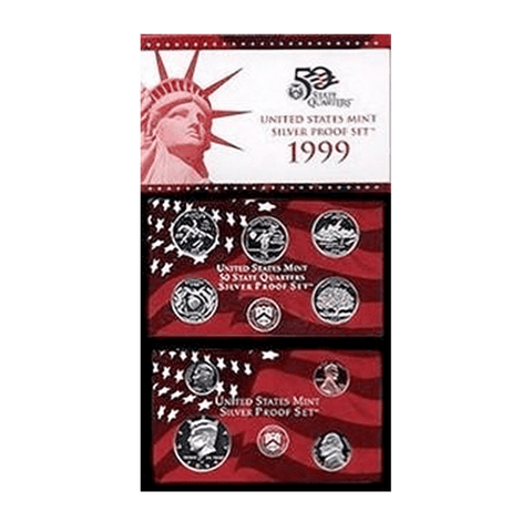 1999-S Silver Proof Set Super Special ~ Only $79.95