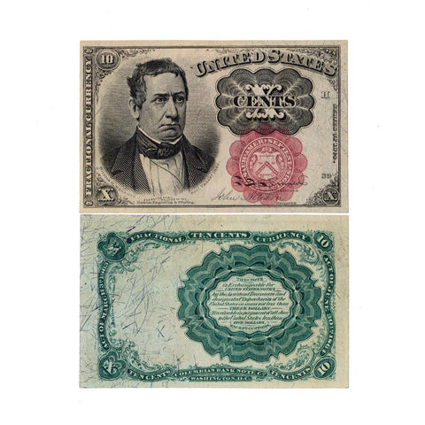 (1874-1876) 5th Issue 10¢ Fractional Fr. 1265 ~ Uncirculated