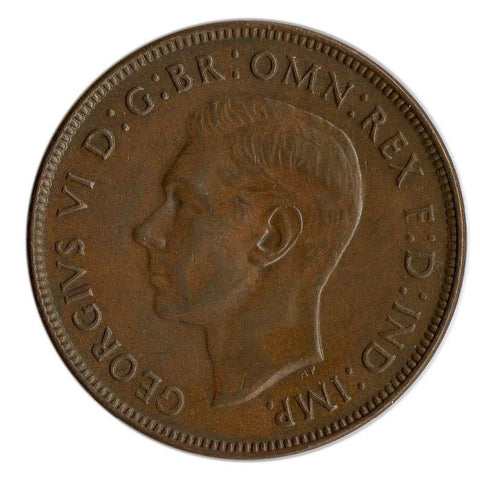 1941 Australia Penny KM.36 - About Uncirculated