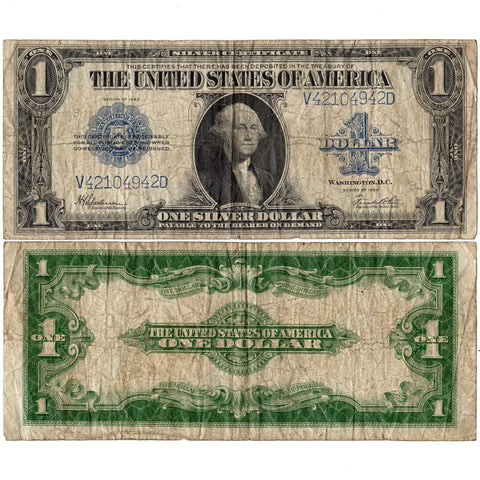 1923 $1 Large-Size Silver Certificate Fr. 237 ~ Very Good