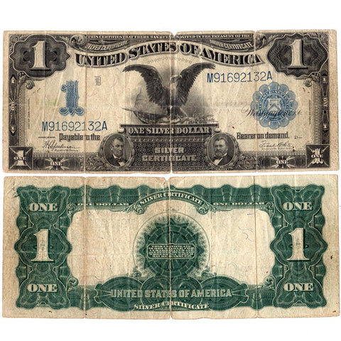 1899 Black Eagle $1 Silver Certificate Fr.236 - Net Very Good
