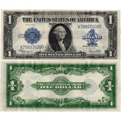 1923 $1 U.S. Large Size Silver Certificates Fr. 237 - Ch. Very Fine