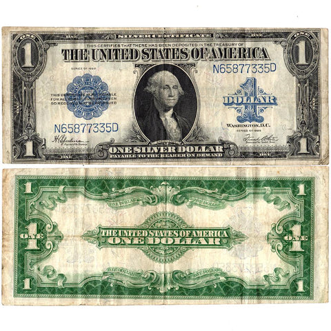 1923 $1 Large-Size Silver Certificate Fr. 237 ~ Very Fine