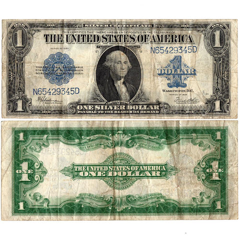 1923 $1 Large-Size Silver Certificate Fr. 237 - Very Fine
