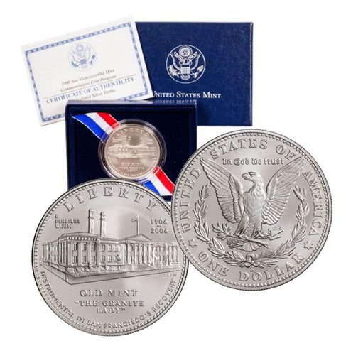 2006-S San Francisco Old Mint Commemorative Coin w/OGP & COA