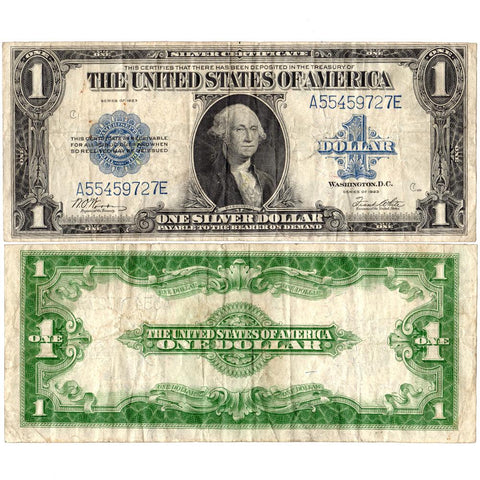 1923 $1 Large-Size Silver Certificate Fr. 238 ~ Fine