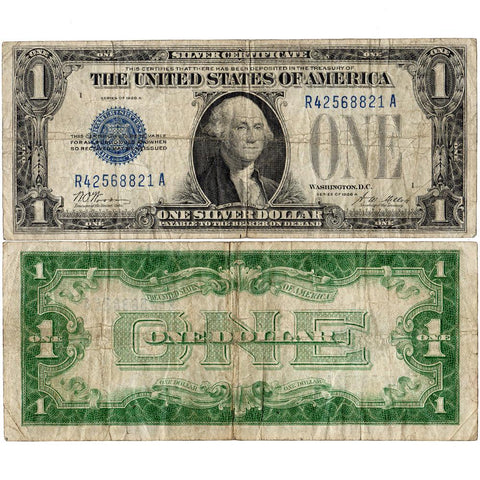 "1928-A $1 ""Funnyback"" Silver Certificate Fr. 1601 - Very Good/Fine"