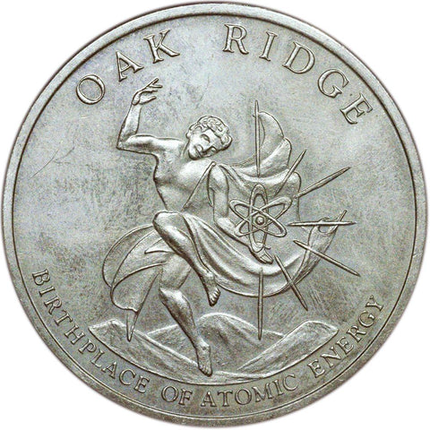 "1942-1967 25th Anniversary Oak Ridge ""Birthplace of Atomic Energy"" Token"