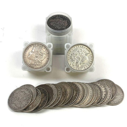 20-Different Circulated Morgan Dollars - Very Good to XF or Better