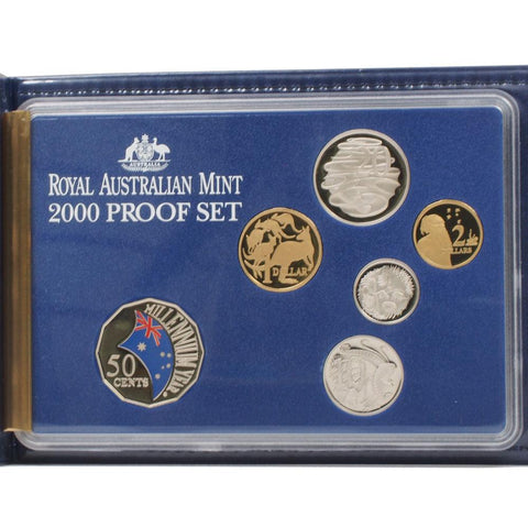 2000 Royal Australian Mint Proof Set - Gem Proof in OGP
