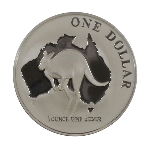 2000 $1 Australian Silver Roo Proof Coin - Gem Proof in OGP