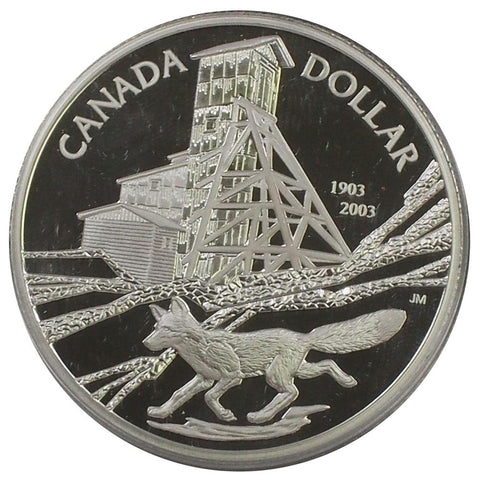 2003 Canada Silver Proof Dollar - Gem Proof in OGP