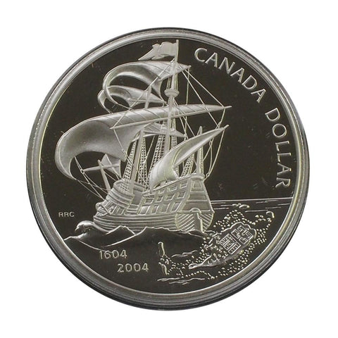 2004 Canada Silver Proof Dollar - Gem Proof in OGP
