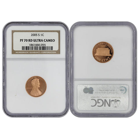 U S  Coins - Lincoln Memorial Cents