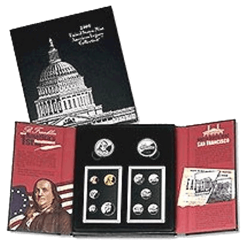 2006 U.S. Mint American Legacy Proof Set - In Original Government Packaging
