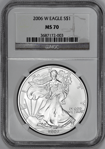 2006-W American Silver Eagle Burnished