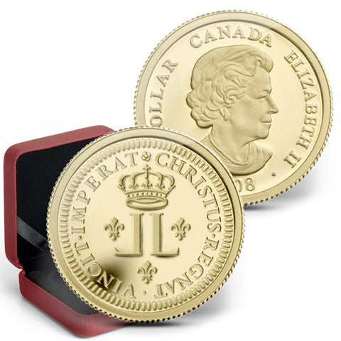 2008 Canada Louis d'or $1 1/20 oz Gold Coin - Gem Proof in OGP