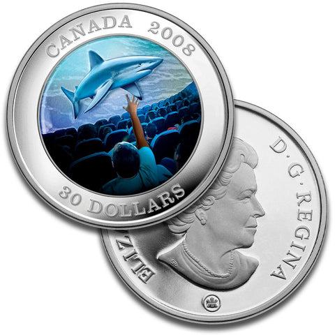 2008 Canada $30 Sterling Silver IMAX Coin - Gem Proof in Box w/ CoA