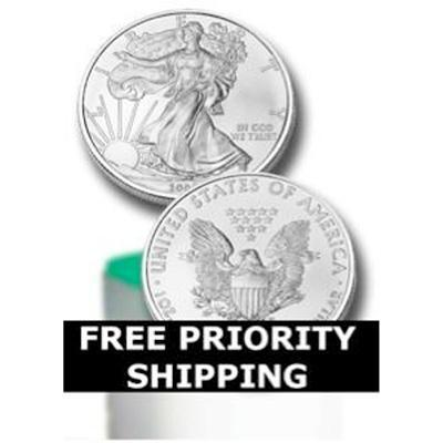 Back Date Silver Eagle Rolls at just $2.99 Over Spot