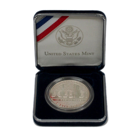 2010 American Veterans Disabled for Life Commemorative Silver Dollar - Gem Proof in OGP w/ COA