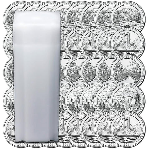 90% Silver Proof National Park Quarters - 40-Coin Rolls