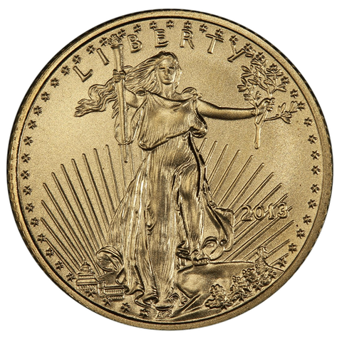 Fractional 2013 American Gold Eagles On Special