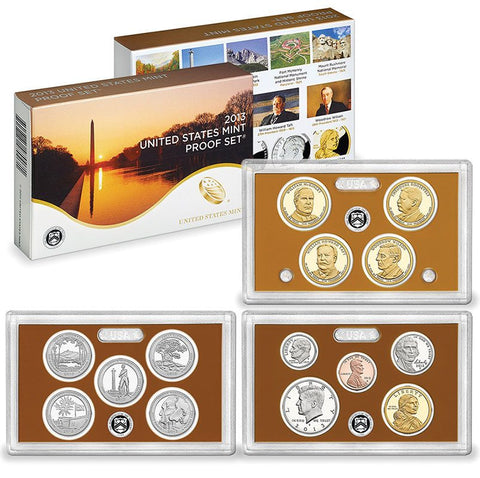 2013-S U.S. Mint Clad Proof Sets