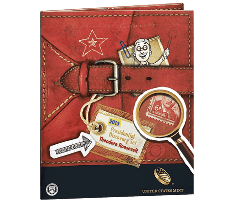 2013 Presidential Discovery Set - Theodore Roosevelt