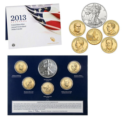2013 United States Mint Annual Uncirculated Coin Set