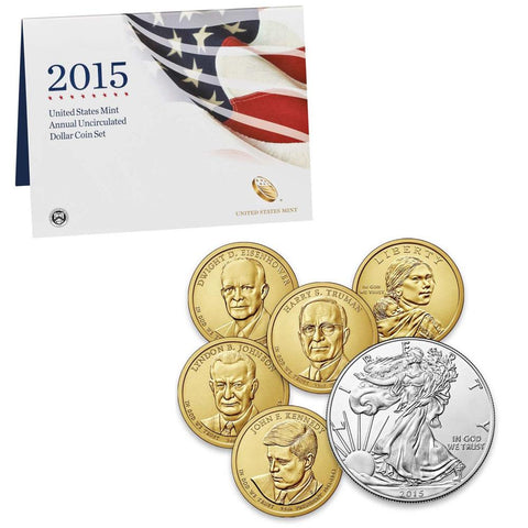 2015 United States Mint Annual Uncirculated Dollar Coin Set