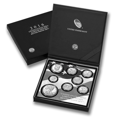 2016 US Mint Limited Edition Silver Proof Set - New In Original Box with COA