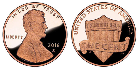 Roll of 50 Proof 2016-S Lincoln Cents